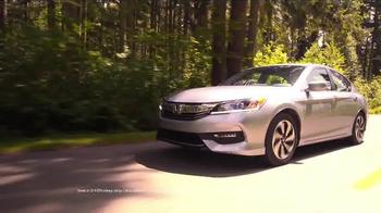 2017 Honda Accord TV Spot, 'Western Washington: Fast Lane' - Thumbnail 3
