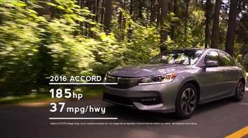 2017 Honda Accord TV Spot, 'Western Washington: Fast Lane' - Thumbnail 4