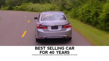 2017 Honda Accord TV Spot, 'Western Washington: Fast Lane' - Thumbnail 6