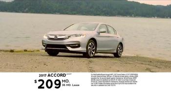 2017 Honda Accord TV Spot, 'Western Washington: Fast Lane' - Thumbnail 7