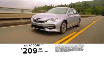 2017 Honda Accord TV Spot, 'Western Washington: Fast Lane' - Thumbnail 8