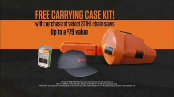 Stihl Carrying Case Kit TV Spot, 'Trust'