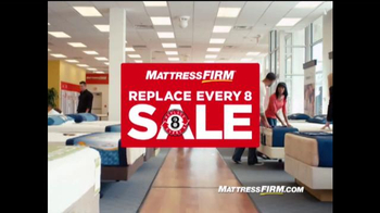 Mattress Firm Replace Every 8 Sale TV Spot, \'Time to Replace\'