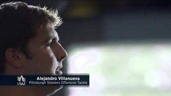 USAA TV Spot, 'Member Voices: NFL's Alejandro Villanueva'