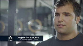 USAA TV Spot, 'Member Voices: NFL's Alejandro Villanueva' - Thumbnail 2