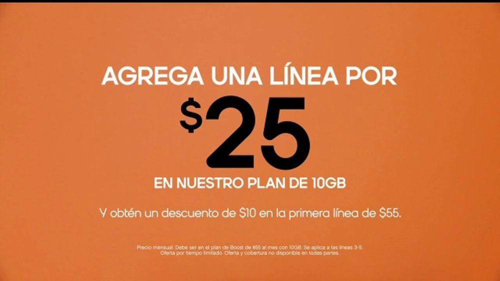 Boost Mobile TV Commercial, 'Agrega una l??nea: Galaxy'