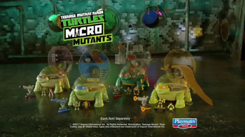 Teenage Mutant Ninja Turtles Micro Mutants TV Spot, 'Leo Pet Playset' - Thumbnail 10
