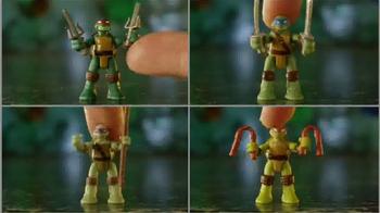 Teenage Mutant Ninja Turtles Micro Mutants TV Spot, 'Leo Pet Playset' - Thumbnail 3