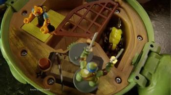 Teenage Mutant Ninja Turtles Micro Mutants TV Spot, 'Leo Pet Playset' - Thumbnail 8