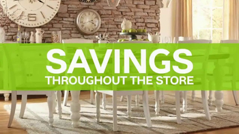 Ashley HomeStore 72nd Anniversary Sale TV Spot, 'Dining Sets'