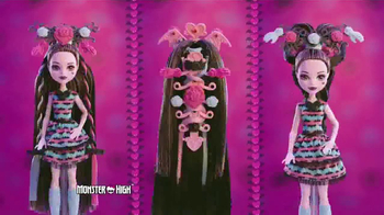 Monster High Party High Draculaura TV Spot, 'So Many Styles'