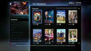DIRECTV Genie TV Spot, 'Food Network: Elevate' Featuring Ted Allen - Thumbnail 2