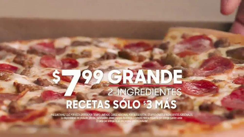 Pizza Hut TV Commercial, \'La mejor oferta de entrega de pizza ...