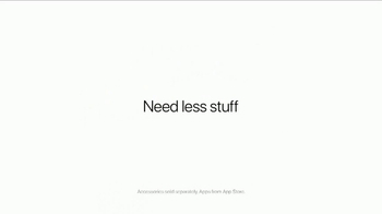 Apple iPad Pro TV Spot, 'Need Less Stuff' - Thumbnail 9