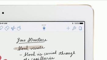 Apple iPad Pro TV Spot, 'Take Better Notes' - Thumbnail 3