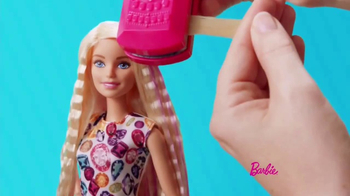 Barbie Crimp & Curl TV Spot, 'So Many Curls' - Thumbnail 4
