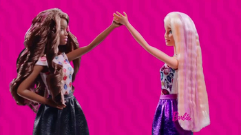 Barbie Crimp & Curl TV Spot, 'So Many Curls' - Thumbnail 5