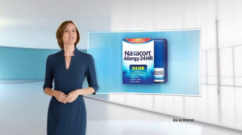 Nasacort Allergy 24Hr TV Spot, 'Zero' - 8875 commercial airings