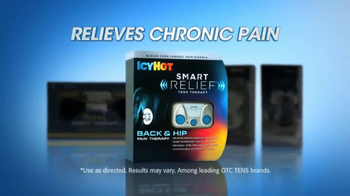 Icy Hot Smart Relief TV Spot, 'Chronic Pain' Feat. Shaquille O'Neal - Thumbnail 3