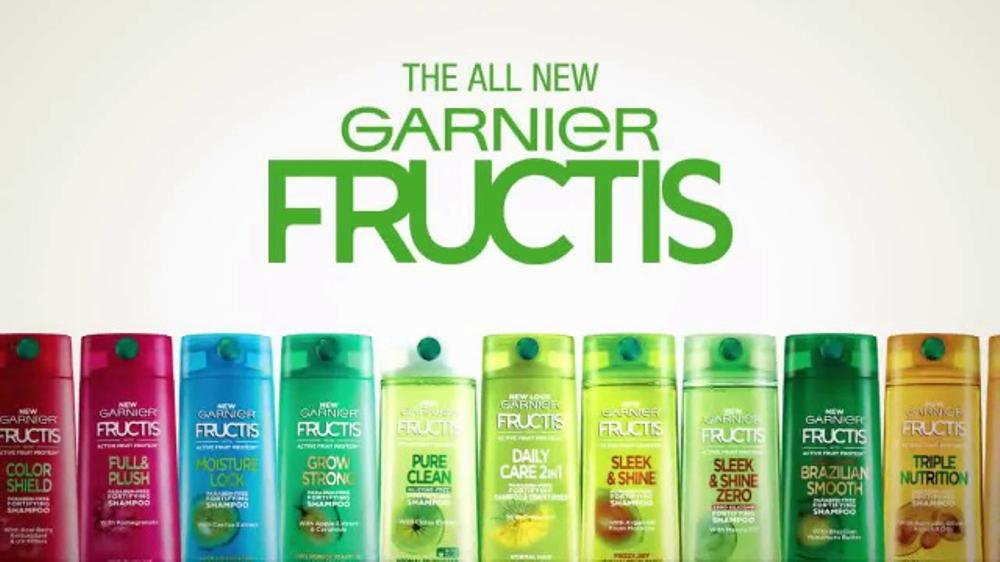 garnier fructis super fruit formulas tv commercial