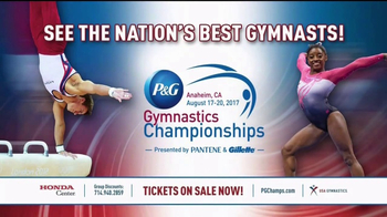 2017 P&G Gymnastics Championships TV Spot, 'Tumble: Honda Center' - Thumbnail 4