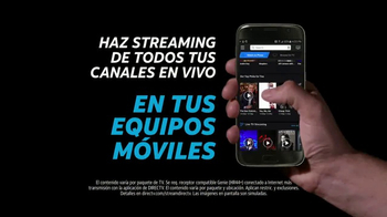 DIRECTV y AT&T TV Spot, 'Univision Streaming' [Spanish] - 389 commercial airings