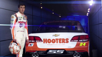 Hooters TV Spot, 'Race Day in America' Featuring Chase Elliot - Thumbnail 1