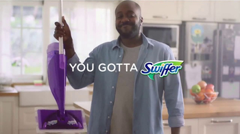 Swiffer WetJet TV Spot, 'Princess & Dirty Hardwood Floor' Song by Blondie - Thumbnail 7