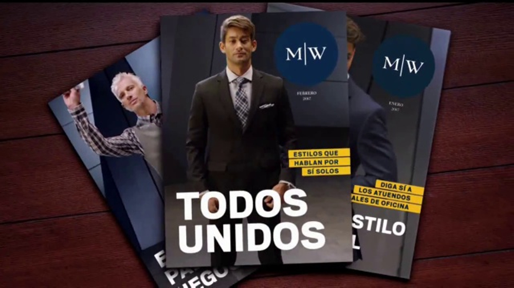 Men's Wearhouse TV Commercial, 'Todos unidos'