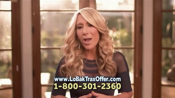 Lo-Bak TRAX TV Spot, 'Relieve Low Back Pain' Featuring Lori Greiner