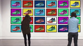 Tennis Warehouse TV Spot, '2017 Adidas Barricade Pop Art'
