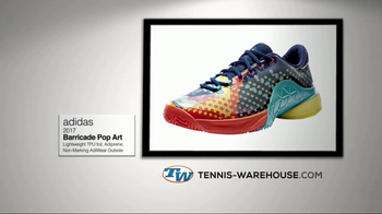 Tennis Warehouse TV Spot, '2017 Adidas Barricade Pop Art' - Thumbnail 7
