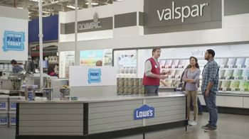 Lowe's TV Spot, 'The Moment: Paint & Primer' - 4368 commercial airings