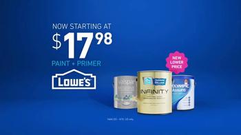 Lowe's TV Spot, 'The Moment: Paint & Primer' - Thumbnail 9