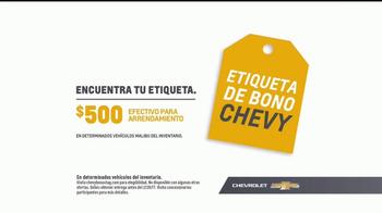 Chevrolet Etiqueta de Bono TV Spot, 'Cuatro años de premios' [Spanish] [T2] - Thumbnail 6