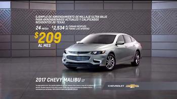 Chevrolet Etiqueta de Bono TV Spot, 'Cuatro años de premios' [Spanish] [T2] - Thumbnail 5