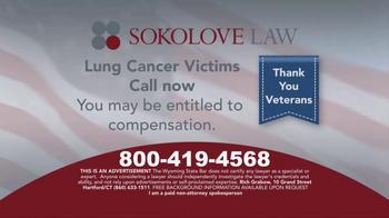 Sokolove Law TV Spot, 'Lung Cancer: Veterans' - Thumbnail 8