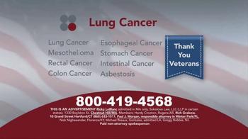 Sokolove Law TV Spot, 'Lung Cancer: Veterans' - Thumbnail 2