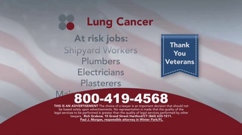 Sokolove Law TV Spot, 'Lung Cancer: Veterans' - Thumbnail 3