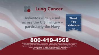 Sokolove Law TV Spot, 'Lung Cancer: Veterans' - Thumbnail 4