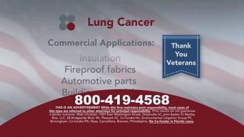 Sokolove Law TV Spot, 'Lung Cancer: Veterans' - Thumbnail 6