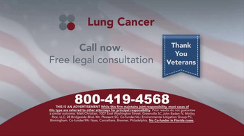 Sokolove Law TV Spot, 'Lung Cancer: Veterans' - Thumbnail 7