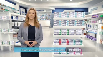 Sensodyne Deep Clean TV Spot, 'MediFacts: Lasting Freshness' - Thumbnail 1