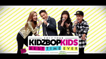 Kidz Bop TV Spot, '2017 Best Time Ever Tour'