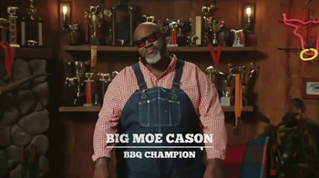 Little Caesars Smokehouse Pizza TV Spot, 'Big Moe Certified'