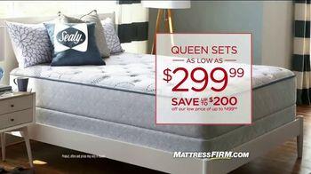 Mattress Firm Semi-Annual Sale TV Spot, 'Ready'