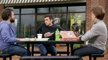 Little Caesars Hot-N-Ready Lunch Combo TV Spot, 'Fast' Feat. Chase Elliott - Thumbnail 3