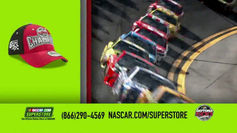 NASCAR Superstore TV Commercial, '2017 Daytona 500 Gear'