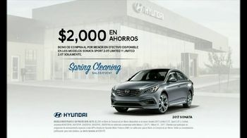 Hyundai Spring Cleaning Sales Event TV Spot, 'Pack Rat: 2017 Sonata' [Spanish] [T2] - Thumbnail 10