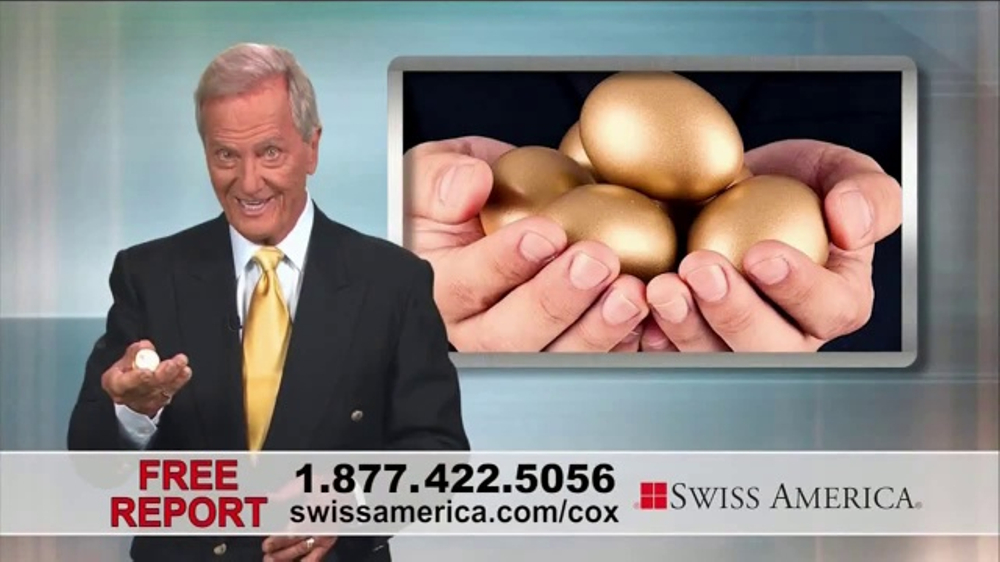 Swiss America TV Commercial, 'Financial Peace' Featuring Pat Boone